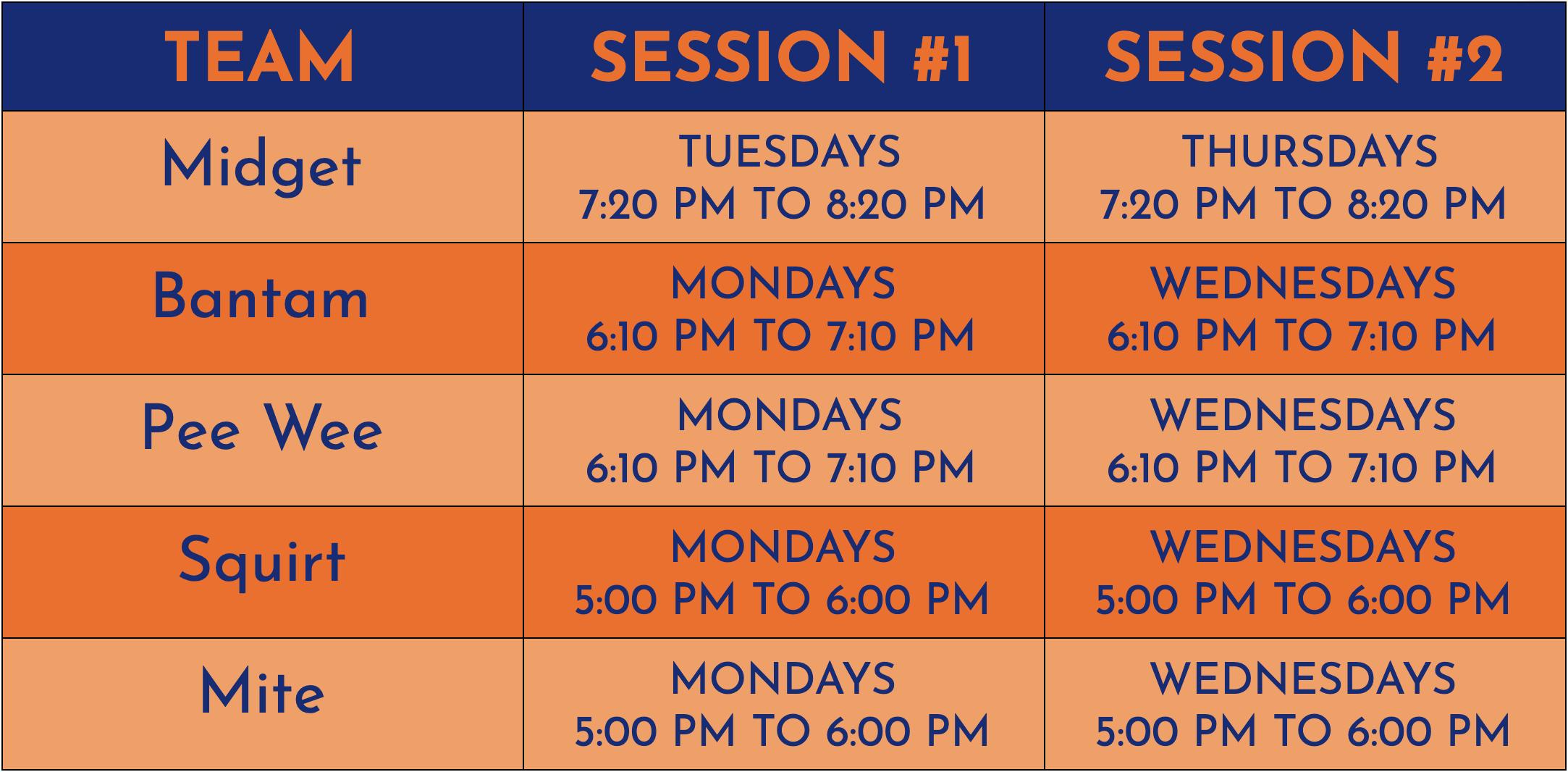 CT United Schedule 2021